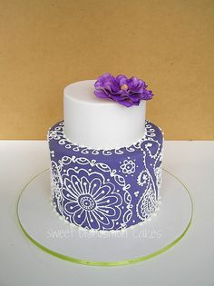 Sweet Disposition Cakes. Pretty.