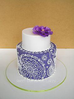 Henna style cake