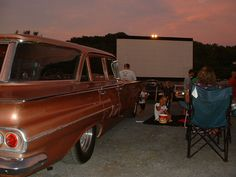 history of drive in movie theater - Google Search