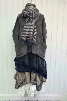 Krista Larson, love the pockets on the sweater.