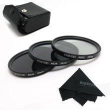 the best RISE(UK) 55MM Neutral Density Filter Lens Set Kit ND2 ND4 ND8 ND 2 4 8 sale