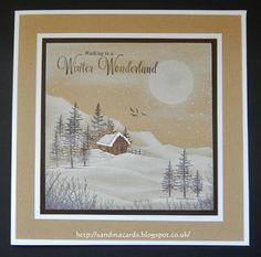 Sandma's Handmade Cards: Sample for Inkylicious Christmas show on Hochanda