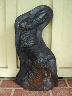 Antique Anton Reiche Chocolate Mold Huge Bunny Rabbit