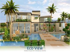 Eco View house by Lhonna at TSR