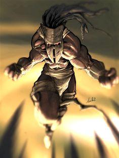 african tribal warrior dude by ~Dreviator on deviantART