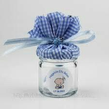 Visible result of glass baby favors [post_tags Baby Shower Diapers, Baby Boy Shower, Baby Diaper Crafts, Baptism Gifts For Boys, Boy Baptism, Twin Baby Gifts, Baby Shower Souvenirs, Craft Stick Crafts, Diy And Crafts
