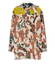 Floral Jacquard Duffie Coat #unisex