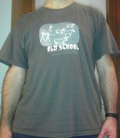 Una maglietta al giorno: GIORNO CINQUE - Old School is a way of life
