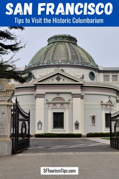 Tap the photo to learn more about visiting this hidden gem in San Francisco. The Columbarium is the final resting places for thousands of people including a few local celebrities. San Francisco City, San Francisco Travel, Alcatraz Tour, San Francisco Pictures, Octagon House, Pacific Heights, City College, Diego Rivera, City Limits
