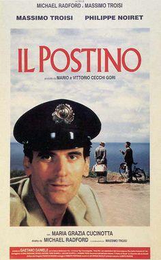 """Il Postino [The Postman] - Michael Radford 1994 - DVD02932 -- """" Le facteur, Mario, enrôle l'aide du poète Pablo Neruda pour conquérir le coeur de la belle Beatrice."""""""