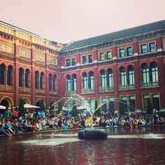 Victoria and Albert Museum (V&A)  for an incredible portion of Art and Design from all over the world.