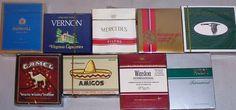 -Rare- Sealed -Flat Box- Vintage Cigarette Display Pack Lot #6 - NOS | eBay