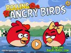 Regresan Los Angry Bird con este juego que tienes que ayudar a juntar todas las rosas y al final el Corazón para demostrar a tu amada que eres digno de ella, ten cuidado en moverte por que puedes caer, divertido juego.