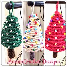Super colección de Pinos Navideños al crochet   Todo crochet