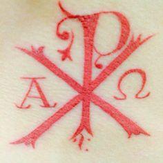My tattoo. Symbol of the Catholic Church