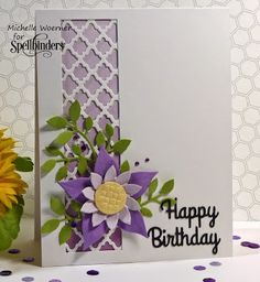 Stop and Stamp the roses: Crafty flower birthday card and another winner