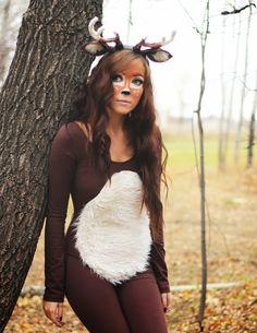 flattery: Deer Halloween Costume Tutorial for Taylor's Halloween costume