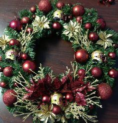 Florida State Seminoles Christmas Wreath