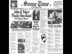On 12-11-1971 John and Yoko along with Stevie Wonder, Bob Seger, Phil Oaks, Jerry Rubin and many others appeared at the John Sinclair Freedom Rally in Ann Arbor Michigan. John debuted the song he wrote for the night 'John Sinclair'.