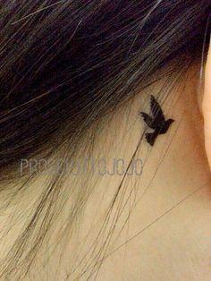 temporary tattoo bird birds flybirds by prosciuttojojo on Etsy