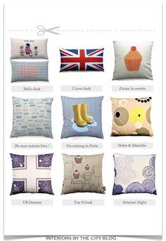 Emilie & Gaëlle cushions