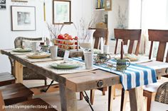 Farmhouse Cottage Dining Room Inspiration