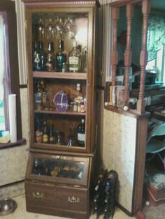 Liquor Cabinet After Storage Cabinets