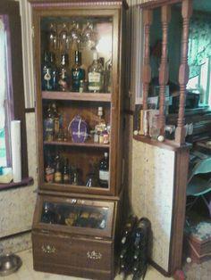 ....Liquor cabinet after