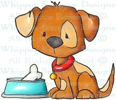 Lil' Jaxon - Dogs - Animals - Rubber Stamps - Shop