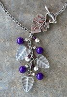 Vineyard Necklace by TernFeather