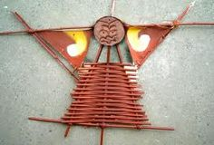 weaving - kite Maori Symbols, Kites For Kids, Maori Patterns, Flax Weaving, International Craft, Weaving For Kids, Arts Integration, Maori Art, Kiwiana
