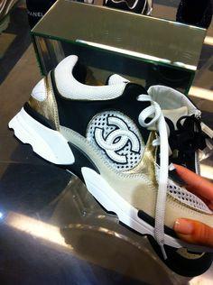 ✦⊱ɛʂɬཞɛƖƖą⊰✦ Chanel Sneakers, Chanel Purse, Jordan Retro, Jordans Sneakers, Adidas Sneakers, Fashion Plates, Shoe Collection, Coco Chanel, Nike Shoes