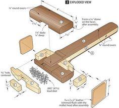 Image result for fine wood mallet