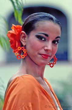Flamenco Dancer, Puerto Rico