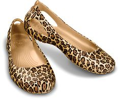 Unleash your inner diva with this fun and funky flat! The Kadee Leopard Flat puts a wildly colorful twist on a classic leopard print pattern, combining fashion with the function of super comfy Croslite™ material construction. Free shipping on qualifying orders. Great customer service. Order today. :: available from the offical Crocs site.