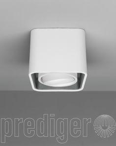 Mini Light Case LED Deckenleuchte Außen Weiß-Innen Grau – Design Leuchten & Lampen Online Shop