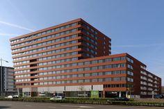 Amersfoort - Zicht op Amersfoort woongebouw  ( architect Rudy Uytenhaak)