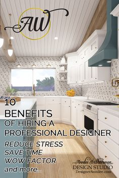10 benefits of Hiring a Professional Designer that will add value to your home project. #customhomes #interiordesign #kitchendesign