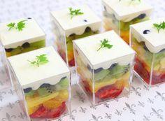 パーティーフード カップフルーツ Ricca catering&deli