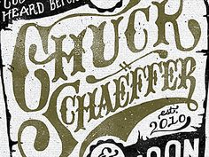 Dribbble - Whisky Schaeffer by Adam Trageser