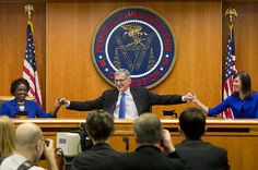 The FCC Votes In Favor Of Net Neutrality. What happened, and what it means. The Federal Communications Commission Thursday passed sweeping new net neutrality rules, a government promise of unrestricted internet across America and a major milestone in the shift in American corporate power to Silicon Valley.