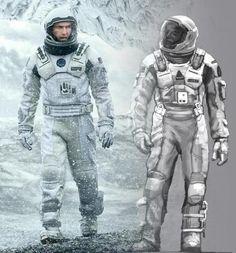 Interstellar_Concept Art by Romek Delimata