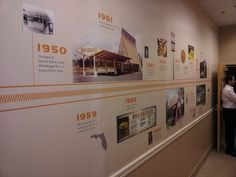 corporate history display - Google Search