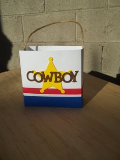 Items similar to 10 Cowboy treat boxes - birthday party favors cowgirl available too on Etsy Cowboy Birthday Party, Cowboy Party, Birthday Party Favors, Birthday Parties, Western Parties, Boxes, Treats, Handmade Gifts, Party Ideas