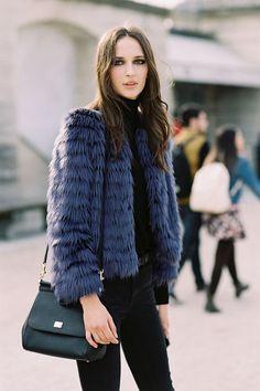 Vanessa Jackman: Paris Fashion Week AW 2015....Waleska