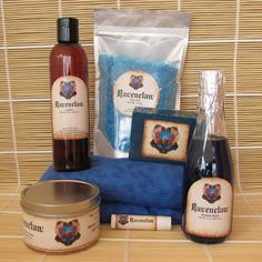 Ravenclaw Harry Potter Themed Deluxe Spa Gift Set - Cherry Pit Pack Heating , Bath Salt, Soy Candle, Soap, Bubble Bath,Lotion and Lip Balm by CherryPitCrafts on Etsy