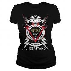 BOWERSOXIts a BOWERSOX Thing You Wouldnt Understand  T Shirt Hoodie Hoodies YearName Birthday