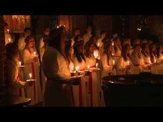 Lucia 2013 Olaus Petri church Örebro - YouTube