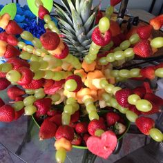 Fruit bouquet for RIO party
