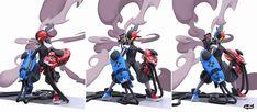 Robot Concept Art, Armor Concept, Kamen Rider Game, Cool Robots, Gundam Art, Cyberpunk Art, Fantasy Weapons, Video Game Characters, Nintendo Switch